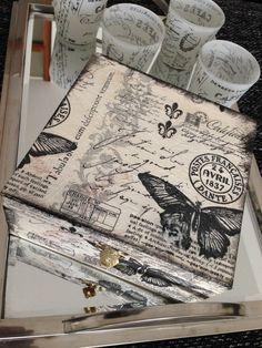 Weiteres - Shabby chic Box - ein Designerstück von AnnasHomeStyle bei DaWanda