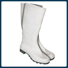 Gummistiefel weiß, Nitril PVC Lebensmittelindustrie und Chimie (45) - Stiefel für frauen (*Partner-Link)