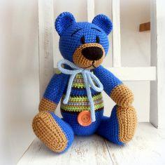 Háčkovaný medvídek