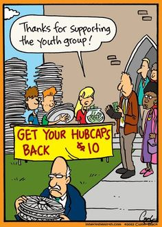Supporting the youth group at church.                              …