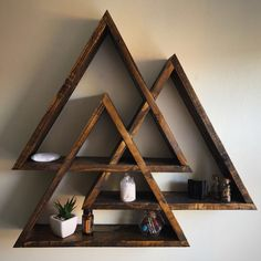 Handmade wooden Valknut, 1 week left to use coupon code XMAS2016 for 10% off!