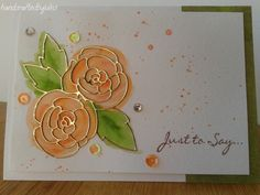 Crafted by Jules: Watercolour Gardenia