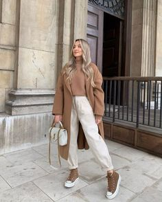 Casual Winter Outfits, Winter Fashion Outfits, Classy Outfits, Look Fashion, Autumn Winter Fashion, Stylish Outfits, Korean Fashion, Fall Outfits, Cold Weather Outfits