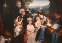 """""""Portrait of the Copley Family"""" by John Singleton Copley, the foremost artist in colonial America, was virtually self-taught as a portraitist. This painting dates back to [Wikipedia] Google Art Project, Colonial America, National Gallery Of Art, Oil Painting Reproductions, Art Studies, Social Studies, American Artists, Art Google, Family Portraits"""