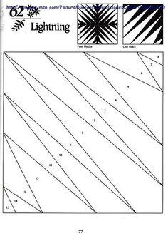 idea for scrap quilting? light/dark scraps 拼布图样 - 草知春 - Picasa Web Albums
