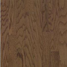 Bruce Locking Smooth Face 5-in W Prefinished Oak Locking Hardwood Flooring (Saddle)