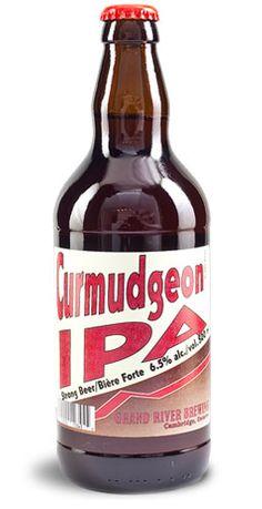 Curmudgeon IPA - Grand River Brewing, Cambridge