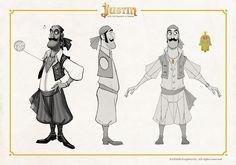 """Concepts y desarrollo del Sergei, el titiritero de """"Justin y la Espada del Valor"""", que fue eliminado de la historia en una de las reescritur..."""