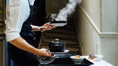 Chef Daniel Rose's Chez La Vieille restaurant near the Louvre in Chatelet serves steaming pots of French classics. Best Restaurants In Paris, Restaurant Paris, Vegan Restaurants, French Basics, Buttermilk Fried Chicken, Vegan Burgers, Food To Go, Small Plates, New Tricks