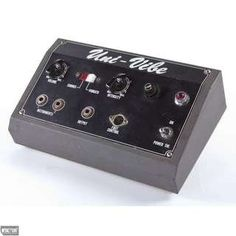 Shin-ei / Univibe Pedal / 1969  Why can't these be made again?