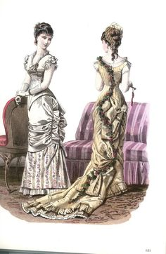 lamodeillustree: 1870's-1790's fashion prints