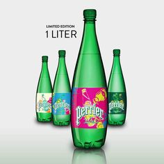 Perrier by Andy Warhol  limited edition bottles