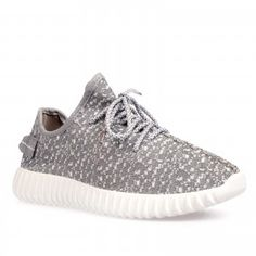 Nikki Grey/White Textured Trainers - http://ego.co.uk/trainers.html