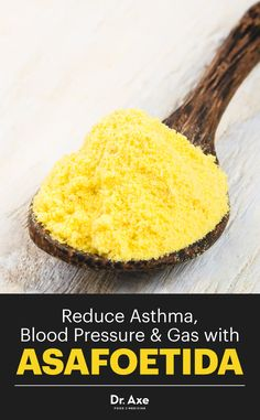 It's called asafoetida, and it's an antispasmodic, carminative, expectorant, natural laxative and sedative.