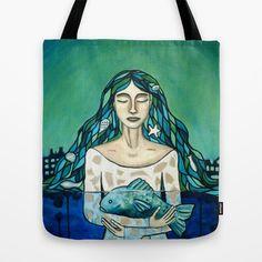 Melusina Tote Bag by Ninamelusina - $22.00