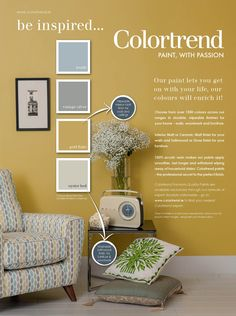 Colourtrend Paint, Trending Paint Colors, Paint Color Schemes, Spare Room, Interior Decorating, Interior Ideas, Color Trends, Colours, Living Room