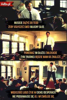 Cytaty Filmowe z Filmu Stowarzyszenie Umarłych Poetów #polskie #cytaty #filmowe #popolsku #helter #mądre #robinwilliams #film #kino