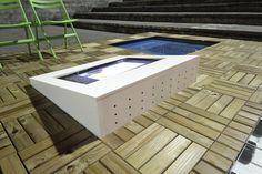 Deck Prático Pinus tratado, instalado no MUBE