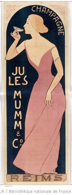 Maurice Réalier-Dumas, Champagne Jules Mumm, 1895