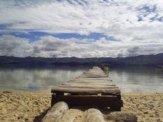 Laguna De Tota,  Boyacá , COLOMBIA :  por  (Ricardo Macías C.)