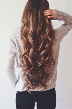 I would LOVE hair like this but mine is too thin and straight