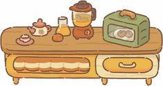 Restaurant Icon, Cute Desktop Wallpaper, Animal Crossing Wild World, Mundo Comic, Art Prompts, Anime Costumes, Aesthetic Drawing, Cute Icons, Cute Illustration
