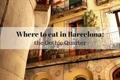 The Gothic Quarter can be intimidating with its narrow, maze-like streets and tourist traps! Use our guide on where to eat in Barcelona's Gothic Quarter!