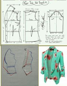 Sensational Tips Sewing Pattern Ideas. Brilliantly Tips Sewing Pattern Ideas. Coat Patterns, Dress Sewing Patterns, Clothing Patterns, Sewing Ideas, Sewing Projects, Crochet Patterns, Blazer Pattern, Jacket Pattern, Top Pattern