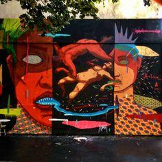 Acidum - street art paris 10 - le mur oberkampf aout 2015