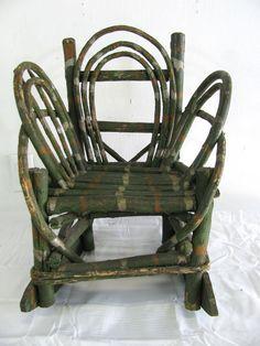 Wooden Fan Back Dining Chair