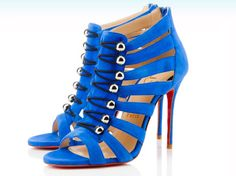 CHRISTIAN LOUBOUTIN | I love these blue suede shoes! Elvis would approve.