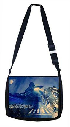 Astronaut Lea Elliot TM School Messenger Bag