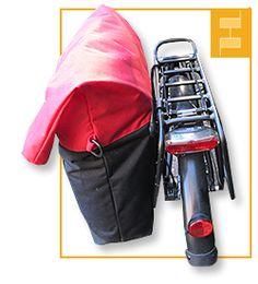 Tasche für Fahrradgepäckträger