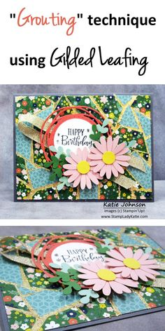 Image C, Blog Images, Pretty Patterns, Pattern Paper, Stampin Up, Adhesive, Happy Birthday, Kids Rugs, Work Surface