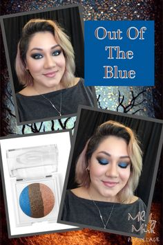 Out of the Blue At Play baked eye trio from Mary Kay!!!