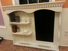 Repurposed Dresser Hutch Into coffee bar? Furniture Update, Diy Furniture Projects, Refurbished Furniture, Repurposed Furniture, Furniture Makeover, Home Projects, Dresser Repurposed, Redoing Furniture, Painted Furniture