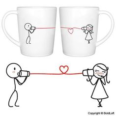 """BOLDLOFT® """"Say I Love You"""" Couple Coffee Mugs-Couple Coffee Mugs,Mr and Mrs Coffee Mugs,Coffee Mugs for Couples,Cute Couple Gifts,Romantic Anniversary Gifts,Couples Wedding Gifts BoldLoft http://www.amazon.com/dp/B000ZHF4ZY/ref=cm_sw_r_pi_dp_QUN4vb1PC5ZJ6"""