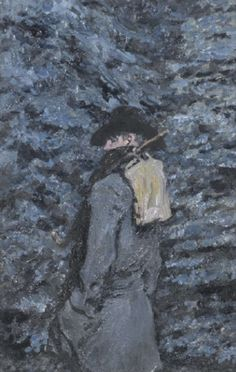 Jack Butler Yeats RHA ~ The Saw Sharpener ~ Oil on panel, 35 x 23 cm. x Previously on sale at Adam's. Jack B, Irish Times, City Gallery, Different Tones, His Travel, Butler, It Cast, Irish Art, Landscape