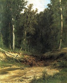 In the Wild North - Ivan Shishkin - WikiPaintings.org