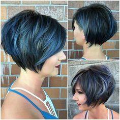 Beliebte Kurze-Stacked Frisuren // #Beliebte #Frisuren #Lieben #ShortStacked #Werden