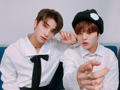 200216 H&D Hangyul and Nam Dohyon at Backstage Sbs Inkigayo Bias Wrecker, Kpop, Couples, Backstage, Promotion, Couple