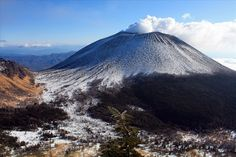 Mount Asama -  Japan - Asia - Located in the center of Japan's main island of Honshu, Mount Asama stands 2,568 m (8,425 ft) above sea level, towering over the resort town of Karuizawa. Mount Asama is best known for an eruption that occurred in 1783, which killed 1,500 people. The mountain is Honshu's most active volcano, erupting as recently as 2009 and sending ash as far away as Tokyo. Despite the potential danger of another eruption, Mount Asama remains a popular holiday destination.