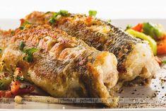 Śledzie świeże smażone Food And Drink, Turkey, Cooking Recipes, Fish, Chicken, Polish Food, Poland, Christmas, Diet