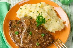 Hovädzie rezne na obráteno Pot Roast, Mashed Potatoes, Steak, Food And Drink, Pork, Beef, Ethnic Recipes, Foods, Fine Dining