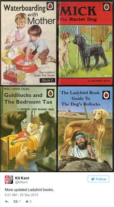 The Ladybird books have just got a whole lot more adult - Yahoo News UK
