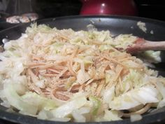 Healthy Cabbage and Noodles Home Beccanomics