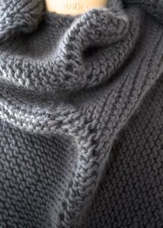 Dovetail Wrap | The Purl Bee