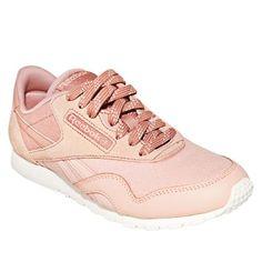 3d19a593b Me gustó este producto Reebok Zapatillas Urbanas Mujer CL Nylon Slim Core  Palo Rosa. ¡Lo quiero!