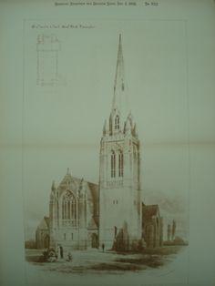 St. Oswald's Church , Small Heath, Birmingham, England, UK, 1891, W. H. Bidlake