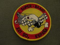 Patch Lockheed P-3 Orion Spanish Air Force Espana 221 Sqn